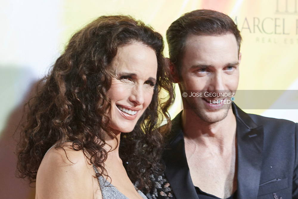 Andie MacDowell attends the Remus Lifestyle Night 2017 on August 3, 2017 in Palma de Mallorca, Spain.