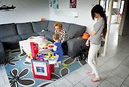 ROTTERDAM - reportage over Rian Peeters<br /> <br /> Jeugd en gezinscoach Wijkteam Children Zone .  COPYRIGHT ROBIN UTRECHT