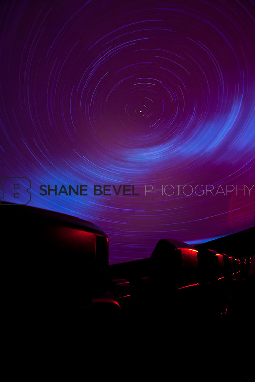 11/1/11 3:21:13 PM -- Tulsa Air and Space Museum. Long exposures of the planetarium. <br /> <br /> Photo by Shane Bevel