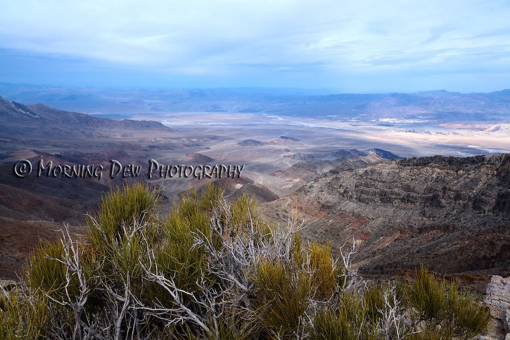 View of Death Valley National Park from Aguereberry Point.
