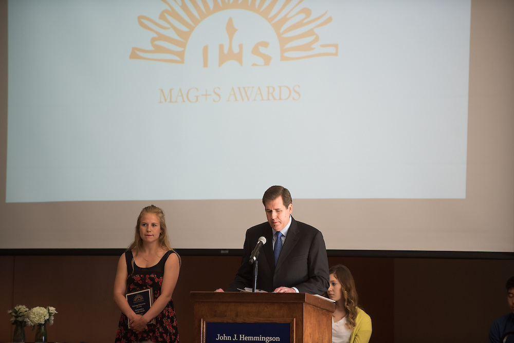 Magis Awards Luncheon in the Hemmingson Ballroom. (Photo by Gonzaga University)