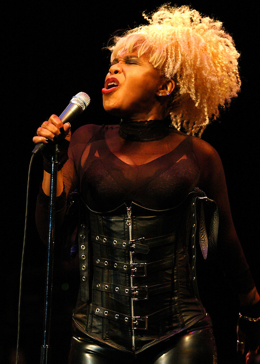 "Joyce ""Baby Jean"" Kennedy vocalist for the Band Mother's Finest- brings the funk to the Historic Newberry Opera House, in Newberry S.C."