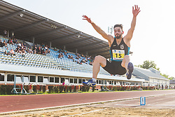 Nino Celec competes during day 1 of Slovenian Athletics Cup 2019, on June 15, 2019 in Celje, Slovenia. Photo by Peter Kastelic / Sportida