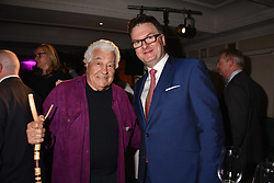 Antonio Carluccio and Ewan Venters at the 2017 Fortnum & Mason Food & Drink Awards held at Fortnum & Mason, Piccadilly London England. 11 May 2017.<br /> Photo by Dominic O'Neill/SilverHub 0203 174 1069 sales@silverhubmedia.com