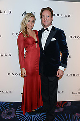 British fine jewellery brand Boodles welcomed guests for the 2013 Boodles Boxing Ball in aid of Starlight Children's Foundation held at the Grosvenor House Hotel, Park Lane, London on 21st September 2013.<br /> Picture Shows:-PIERS BECKWITH and JESSICA CUMMINGS.<br /> Press release - https://www.dropbox.com/s/a3pygc5img14bxk/BBB_2013_press_release.pdf<br /> <br /> For Quotes  on the event call James Amos on 07747 615 003 or email jamesamos@boodles.com. For all other press enquiries please contact luciaroberts@boodles.com (0788 038 3003)