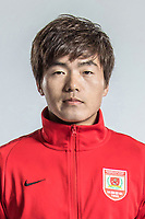 **EXCLUSIVE**Portrait of Chinese soccer player Li Guang of Changchun Yatai F.C. for the 2018 Chinese Football Association Super League, in Wuhan city, central China's Hubei province, 22 February 2018.