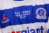 Photo: Leigh Quinnell.<br /> Queens Park Rangers v Southampton. Coca Cola Championship. 01/09/2007. Players wear special shirt to celebrate the life of player Ray Jones after he died in a car crash.