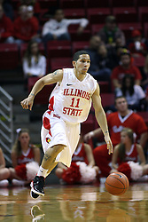 19 November 2011:  Nic Moore during an NCAA mens basketball game between the Lipscomb Bison and the Illinois State Redbirds in Redbird Arena, Normal IL