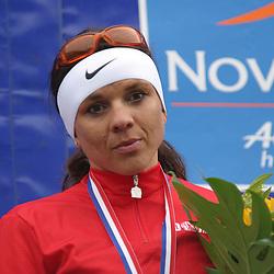Sportfoto archief 2000-2005<br />2004<br />Leontien van Moorsel pakt de titel bij de vrouwen in Rooterdam