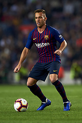 October 20, 2018 - Barcelona, Catalonia, Spain - Arthur Melo  in action during the week 9 of La Liga match between FC Barcelona and Sevilla FC at Camp Nou Stadium in Barcelona, Spain on October 20, 2018. (Credit Image: © Jose Breton/NurPhoto via ZUMA Press)