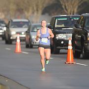 Meg Ashton participates in Race 13.1 Sunday February 22, 2015 in Wilmington, N.C. (Jason A. Frizzelle)