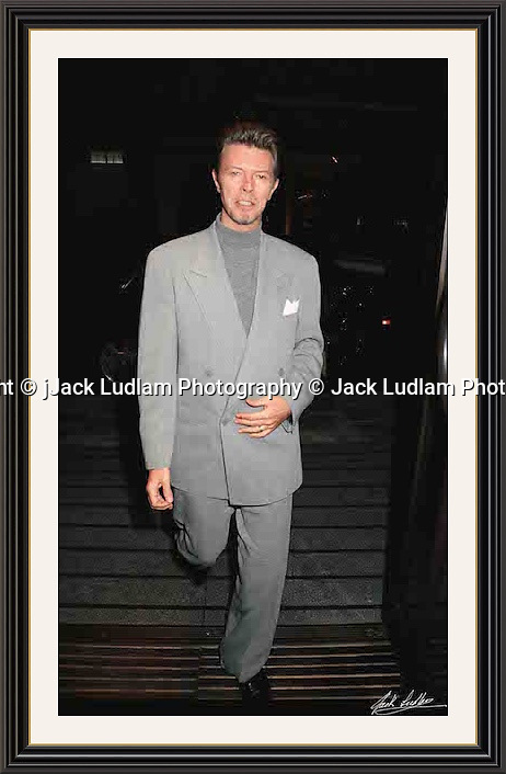 David Bowie Bury st<br />