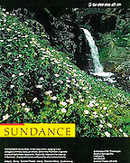 A magazine ad for Sundance Resort in Utah