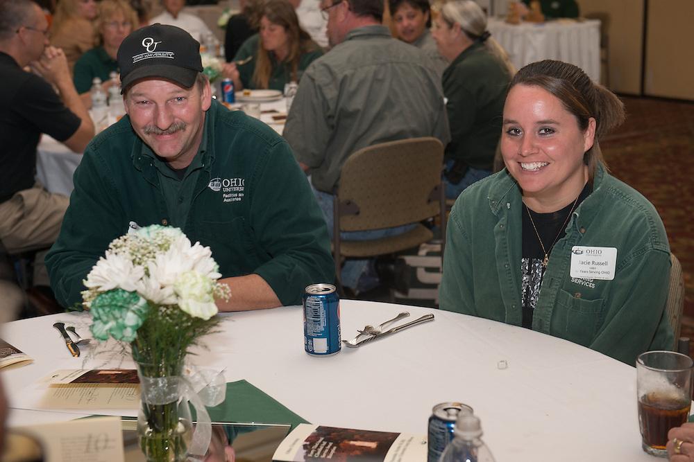 Classified Senate Awards Luncheon at the Baker Ballroom. Photo by Ben Siegel/ Ohio University