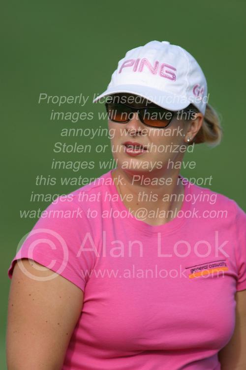 30 Aug 2005<br /> <br /> Hilary Lunke.<br /> <br /> State Farm Classic, LPGA Golf Tournament, Tuesday Practice, The Rail Golf Course, Springfield, IL