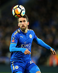 Christian Fuchs of Leicester City - Mandatory by-line: Robbie Stephenson/JMP - 16/01/2018 - FOOTBALL - King Power Stadium - Leicester, England - Leicester City v Fleetwood Town - Emirates FA Cup third round proper