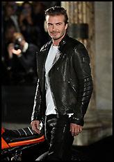 SEP 15 2013 David Beckham-Belstaff House Opening