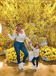 """Coco Austin releases a photo on Twitter with the following caption: """"""""Pose Pose Pose ..that&#39;s what we do..Its in our blood<br /> <br /> #Versace Fashion today"""""""". Photo Credit: Twitter *** No USA Distribution *** For Editorial Use Only *** Not to be Published in Books or Photo Books ***  Please note: Fees charged by the agency are for the agency's services only, and do not, nor are they intended to, convey to the user any ownership of Copyright or License in the material. The agency does not claim any ownership including but not limited to Copyright or License in the attached material. By publishing this material you expressly agree to indemnify and to hold the agency and its directors, shareholders and employees harmless from any loss, claims, damages, demands, expenses (including legal fees), or any causes of action or allegation against the agency arising out of or connected in any way with publication of the material."""