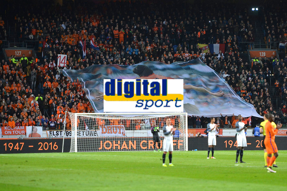 ILLUSTRATION - SUPPORTERS - HOMMAGE A Johan Cruyff