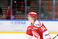 2019-01-24 | Ljungby, Sweden: Troja-Ljungby (54) Alexander Edström during the game between IF Troja / Ljungby and Visby / Roma HK at Ljungby Arena ( Photo by: Fredrik Sten | Swe Press Photo )<br /> <br /> Keywords: Icehockey, Ljungby, HockeyEttan, Ljungby Arena, IF Troja / Ljungby, Visby / Roma HK, AllEttan Södra