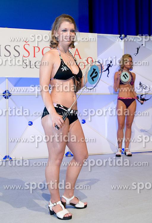 Masa Rogelj at event Miss Sports of Slovenia, on April 18, 2009, in Festivalna dvorana, Ljubljana, Slovenia. (Photo by Ales Oblak / Sportida)