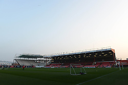 A general view of Ashton Gate before the Bristol Sport Schools Cup Football - Photo mandatory by-line: Dougie Allward/JMP - Mobile: 07966 386802 - 19/03/2015 - SPORT - Football - Bristol - Ashton Gate - Bristol Sport Schools Cup