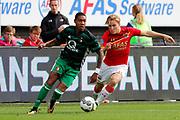 Jean Paul Boetius of Feyenoord, Jonas Svensson of AZ Alkmaar