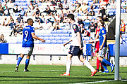 Ipswich Town forward Kayden Jackson celebrates his goal during the EFL Sky Bet League 1 match between Bolton Wanderers and Ipswich Town at the University of  Bolton Stadium, Bolton, England on 24 August 2019.