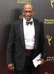.Reg E. Cathey   attends  2016 Creative Arts Emmy Awards - Day 1 at  Microsoft Theater on September 10th, 2016  in Los Angeles, California.Photo:Tony Lowe/Globephotos