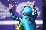 Breeders' Cup Turf Sprint (Race 4) (Turf) <br /> November 3, 2018: Stormy Liberal #9, ridden by Drayden Van Dyke, wins the Breeders' Cup Turf Sprint on Breeders' Cup World Championship Saturday at Churchill Downs on November 3, 2018 in Louisville, Kentucky.