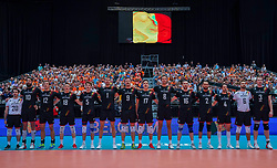 10-08-2019 NED: FIVB Tokyo Volleyball Qualification 2019 / Belgium - Netherlands, Rotterdam<br /> Third match pool B in hall Ahoy between Belgium vs. Netherlands (0-3) for one Olympic ticket / Team Belgium
