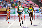 Zeney Van Der Walt (RSA) wins the Gold Medal in 400 Metres Hurdles Women during the IAAF World U20 Championships 2018 at Tampere in Finland, Day 4, on July 13, 2018 - Photo Julien Crosnier / KMSP / ProSportsImages / DPPI