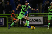 Forest Green Rovers Carl Winchester(7) runs forward during the EFL Sky Bet League 2 match between Forest Green Rovers and Mansfield Town at the New Lawn, Forest Green, United Kingdom on 29 January 2019.