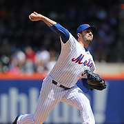 Pitcher Matt Harvey pitching during the New York Mets Vs Miami Marlins MLB regular season baseball game at Citi Field, Queens, New York. USA. 19th April 2015. Photo Tim Clayton