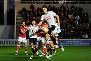 Derby County defender Jason Shackell during the Sky Bet Championship match between Bristol City and Derby County at Ashton Gate, Bristol, England on 19 April 2016. Photo by Graham Hunt.