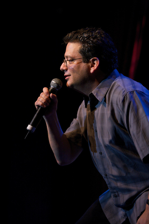 Andy Kindler hosts the Alternative Comedy Show at the 2009 Just For Laughs - Zoofest Festival in Montreal, Canada