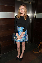 LAURA CARMICHAEL at the West End opening night of 'Great Britain' a  play by Richard Bean held at The Theatre Royal, Haymarket, London followed by a post show party at Mint Leaf, Suffolk Place, London on 26th September 2014.
