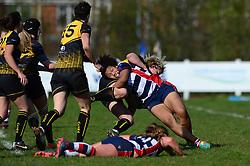Tatyana Heard of Bristol Ladies - Mandatory by-line: Dougie Allward/JMP - 26/03/2017 - RUGBY - Cleve RFC - Bristol, England - Bristol Ladies v Wasps Ladies - RFU Women's Premiership