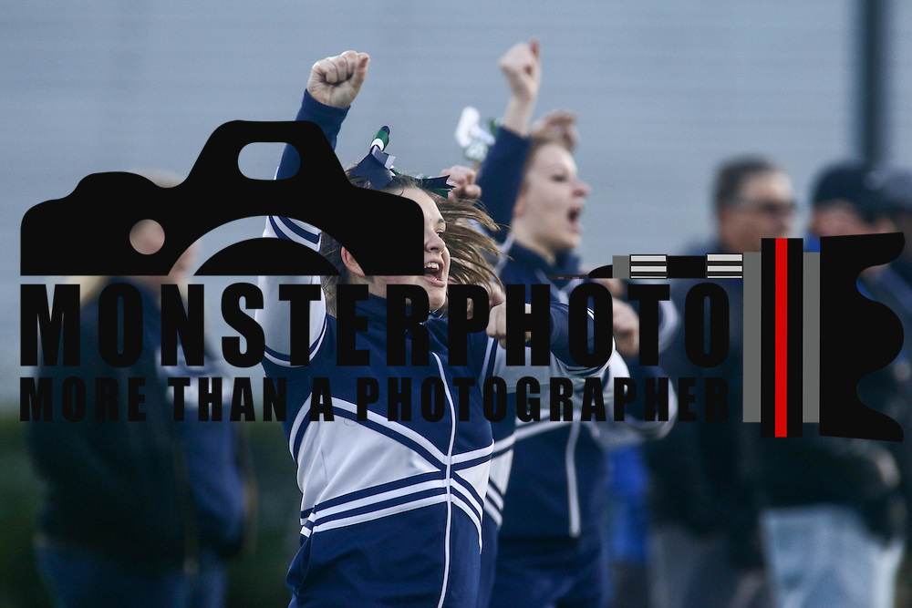 McKean cheer during the Special Olympics DIAA Unified Flag Football Championship game, Newark Charter defeated McKean 35-28 Saturday, Dec. 03, 2016 at Delaware Stadium in Newark.