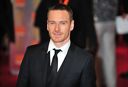 © Licensed to London News Pictures. 12/02/2012. London, England.Michael Fassbender arrives for the Orange British Academy Film Awards at The Royal Opera House on February 12, 2012 in London, England. Photo credit : ALAN ROXBOROUGH/LNP