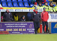 Dundee manager Paul Hartley  - Inverness Caledonian Thistle v Dundee in the Ladbrokes Scottish Premiership at Caledonian Stadium, Inverness.Photo: David Young<br /> <br />  - &copy; David Young - www.davidyoungphoto.co.uk - email: davidyoungphoto@gmail.com