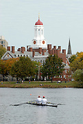 Boston, USA, competing in the Head of the Charles, Race Charles River,  Cambridge,  Massachusetts. Saturday  20/10/2007  [Mandatory Credit Peter Spurrier/Intersport Images]..... , Rowing Course; Charles River. Boston. USA