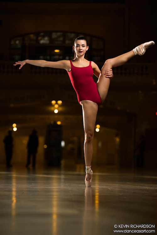 Dance As Art The New York Photography Project Grand Central Series with Rachele Perla