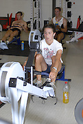 Reading, Great Britain,  Gym training Gv's,  at the GB Rowing,  2007 World Rowing Championship Team Announcement at the Rowing Training centre, Caversham, ENGLAND 19/07/2007  [Mandatory Credit Peter Spurrier/ Intersport Images] , Rowing course: GB Rowing Training Complex, Redgrave Pinsent Lake, Caversham, Reading