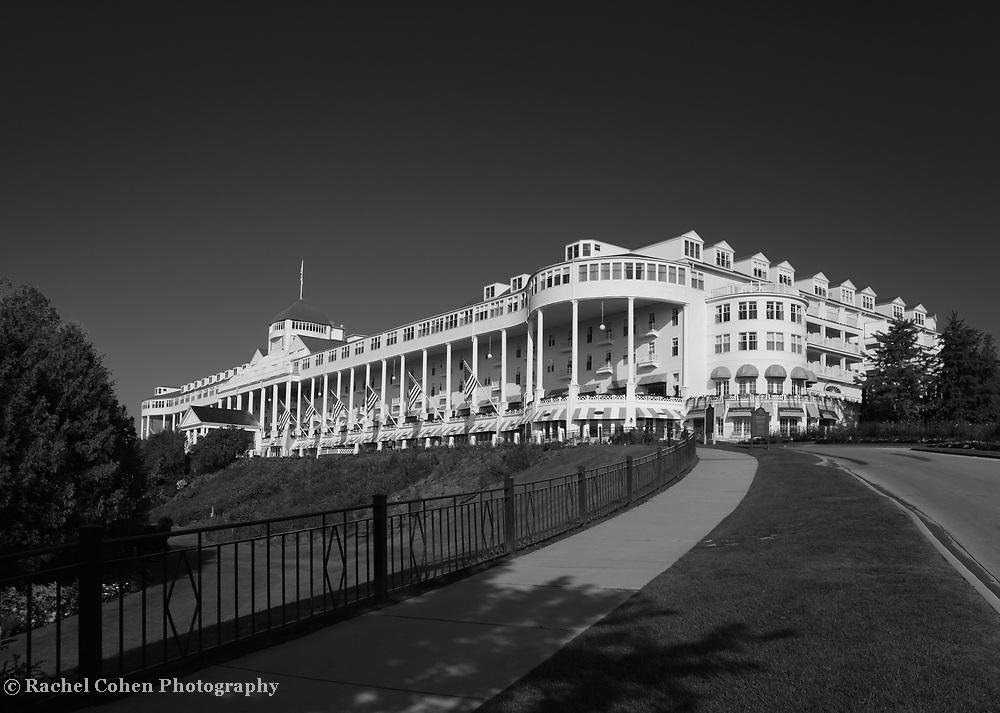 """Grand Hotel Mackinac Island"" mono"