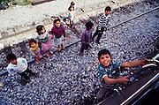 Kids at Temoris station.