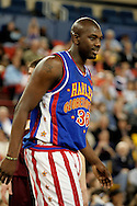 04 May 2006: Trotter Center Nate Lofton (36) during the Harlem Globetrotters vs the New York Nationals at the Sulivan Arena in Anchorage Alaska during their 80th Anniversary World Tour.  This is the first time in 10 years that the Trotters have visited Alaska.
