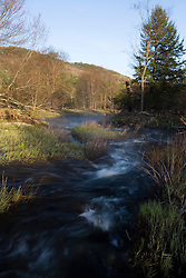 A spring morning on the Ashuelot River in Surry, New Hampshire.  A Connecticut River tributary.