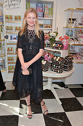 CANDICE LAKE at a party to launch Biscuiteers Fashion Biscuit Collection inspired by Alice Naylor-Leyland's wardrobe held at Biscuiteers, 194 Kensington Park Road, London W11 on 23rd June 2015.