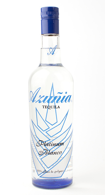 Azunia Platinum Blanco -- Image originally appeared in the Tequila Matchmaker: http://tequilamatchmaker.com